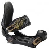 Technine Suerte Snowboard Bindings Black