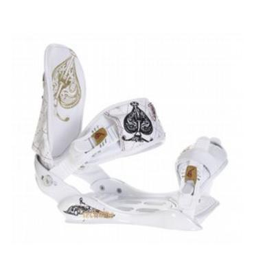 Technine Suerte Snowboard Bindings White
