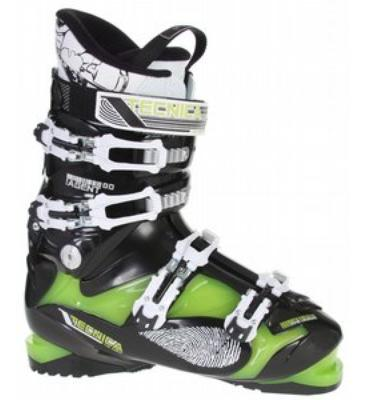 Tecnica Agent 80 Ski Boots Black/Green