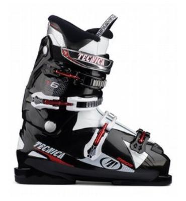 Tecnica Mega 6 Ski Boots White/Black