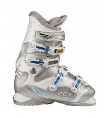 Tecnica Viva P60 Comfort Ski Boots White/Silver