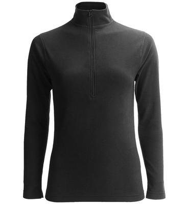 Terramar Fleece Pullover Shirt - Zip Neck, Long Sleeve (For Women)