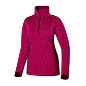 Terramar Tri-Color Melange Fleece 1/2 Zip - Women's