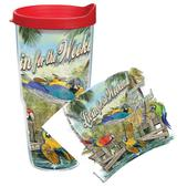 Tervis Livin For the Weekend Wrap Tumbler with Lid, 24oz.