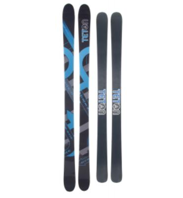 Teton Rendevous Rocker Skis