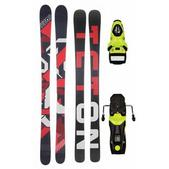 Teton Supreme Rocker Skis w/ Rossignol Axium 110 Bindings Fluro Yellow