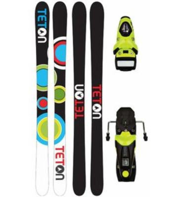 Teton TT2 Camrock Ski Package