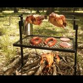 Texsport Rotisserie Spit Camping Grill 15119