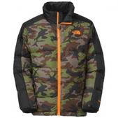 The  North  Face Boys Youth Aconcagua Jacket (SCALLION GREEN CAMO, L)
