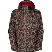 The North Face Decagon 2.0 Ski Jacket Tigers Eye Tan Duckmo Print