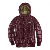 The  North  Face Girls Youth Gotham Jacket (BORDEAUX RED, L)