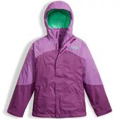 The North Face Mt View Triclimate Jacket - Girl's Bellflower Purple Xl