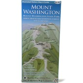 THE WILDERNESS MAP CO. Mt. Washington Map