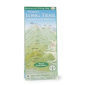 THE WILDERNESS MAP CO. Vermont's Long Trail Map