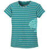 Toddler Girl's Look N See Stripe Tee