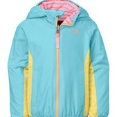 Toddler Girl's Reversible Grizzly Peak Lined Wind Jacket