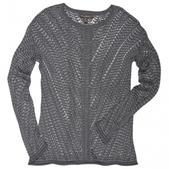 Tommy Bahama Womens Annetta Pullover Sweater Gray