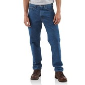 Traditional-Fit Tapered-Leg Jean