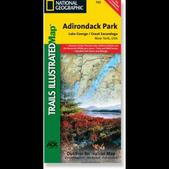 Trails Illustrated Adirondack Park - Lake George/Great Sacandage Lake Trail Map