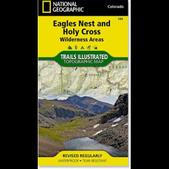 Trails Illustrated Eagles Nest and Holy Cross Wilderness Areas Topographic Map