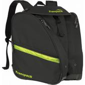 Transpack XT Pro Boot Bag- Black/Electric Yellow