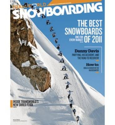 Transworld Snowboarding Magazine Subscription - 1 Year/9 Issues