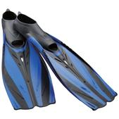 TUSA Makaha Full Foot Dive Fin, Blue, Sm.