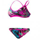 TYR Womens Safari Crosscut Fit Workout Bikini