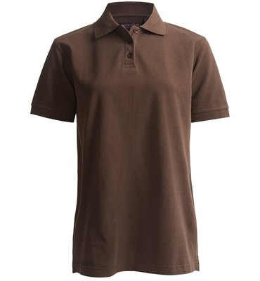 UltraClub Classic Polo Shirt - Combed Cotton Pique, Short Sleeve (For Women)