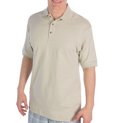 UltraClub Egyptian Cotton Interlock Polo Shirt - Short Sleeve (For Men)