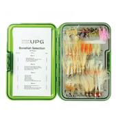 Umpqua Bonefish Fly Selection with UPG Fly Box