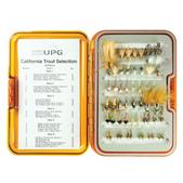 Umpqua California Trout Fly Selection with UPG Fly Box