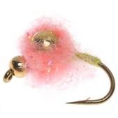 Umpqua Feather Merchants Gorman Sparkle Egg Lead Eye Nymph Fly - Dozen