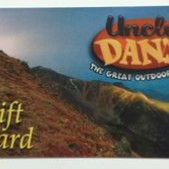 Uncle Dan's Gift Card $150