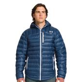 Under Armour Men's UA ColdGear Infrared Turing Hooded Jacket-Blue, L