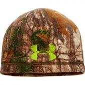 Under Armour Youth Ua Coldgear Infrared Scent Control Camo Beanie - Realtree Ap Xtra