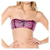 Volcom Call Me Wild Bandeau Bikini Top - Womens