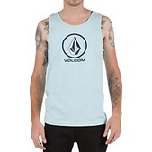 Volcom Mens Circle Staple Tank