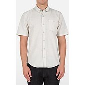 Volcom Mens Everett Mini Check Short Sleeve Shirt - Sale