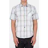 Volcom Mens Everett Plaid Short Sleeve Shirt - Sale