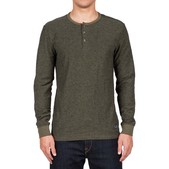 Volcom Moxee Long Sleeve Henley Mens Shirt
