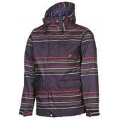 Volcom Tactic Snowboard Jacket Black Stripe