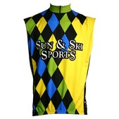 Vomax Retro Team Sun & Ski Sleeveless Cycling Jersey