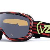 Vonzipper Chakra Snowboard Goggles Stripezilla Red - Women's