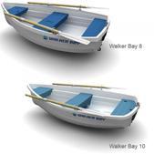 Walker Bay 8, 83 Length, 44 Beam, 71lb., 425lb. Capacity (up to 2 people)