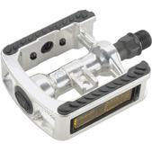 Wellgo WG5 Comfort Bike Pedals Silver 9/16in