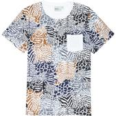 WeSC Zebraffger Camo T-Shirt - Short-Sleeve - Men's