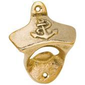 West Marine Brass Bulkhead Bottle Opener