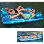 West Marine Marine Lounge Float, One-Person, 80L x 36W x 8H