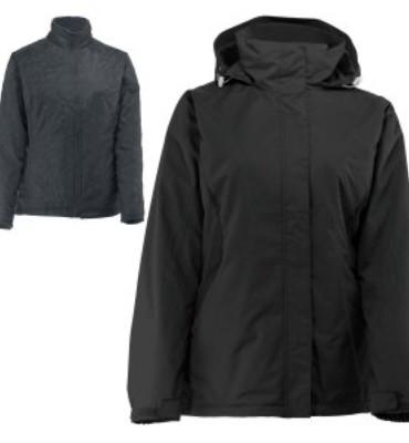 White Sierra All Seasons 4-in-1 Ski Jacket (Women's)